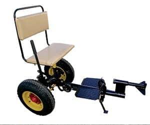 Кресло из колес своими руками 33