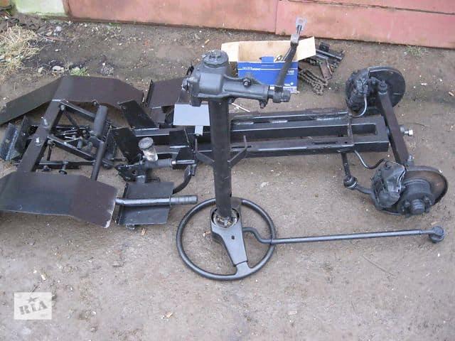 Переделка мотоблока в минитрактор