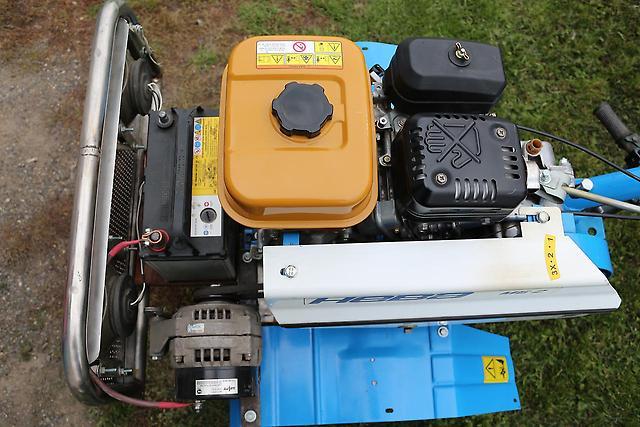 поставить автомобильный генератор на мотоблок