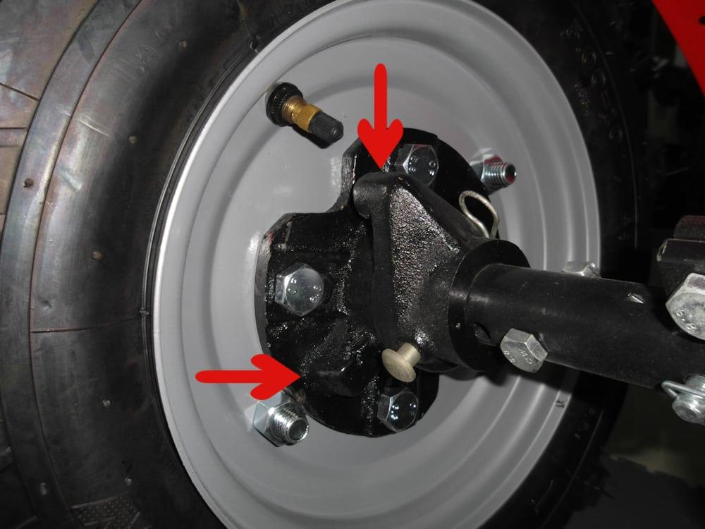 Разблокировка колес для мотоблока своими руками