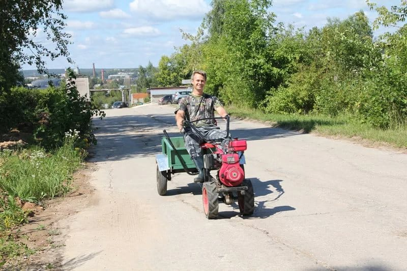 По каким дорогам в российской федерации можно двигаться на мотоблоке