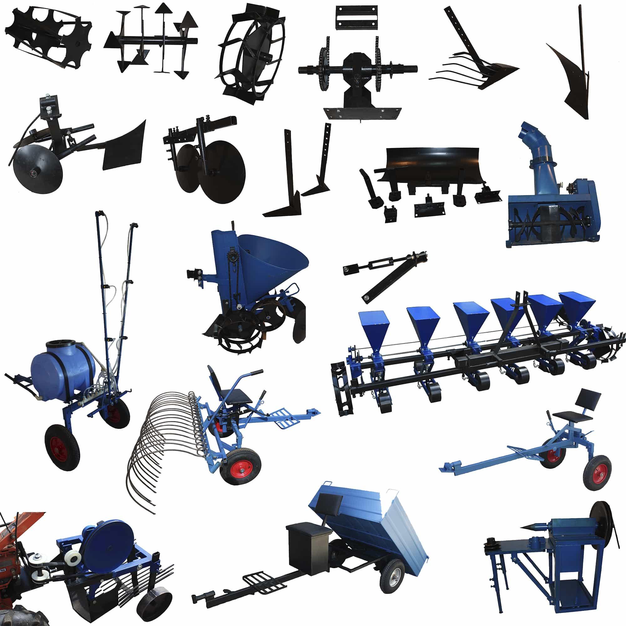 Навесное оборудование для мотоблоков МТЗ