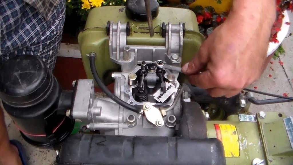 Регулировка зазора клапанов двигателя