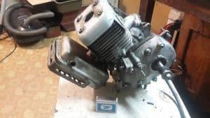 Двигатель для мотоблока Крот - техническими особенности