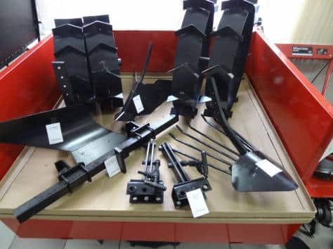 Работа с навесным оборудованием мотоблока Агат