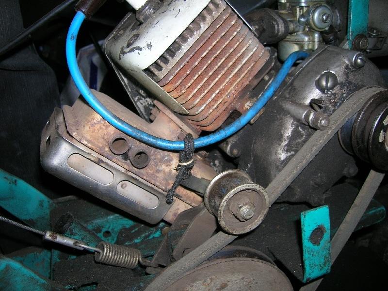 Замена мотора на мотокультиваторе Крот