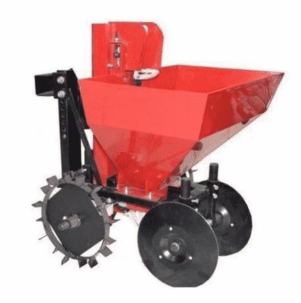Картофелесажалка КС-1 - навесное оборудование для мотоблоков Салют