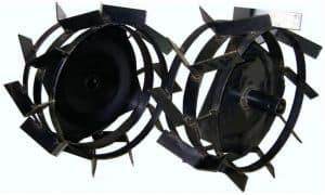 Металлические колеса для мотоблока Нева (грунтозацепы)