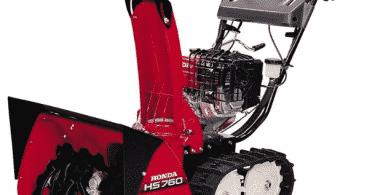 Снегоочиститель Honda HSS 760 ETS