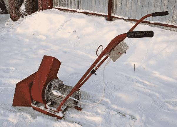 Снегоуборщик из культиватора, мотокультиватора
