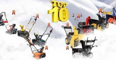 Рейтинги бензиновых и электрических снегоуборщиков