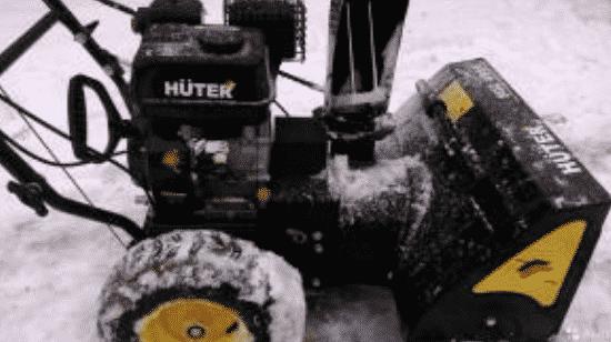Снегоуборщики Хутер