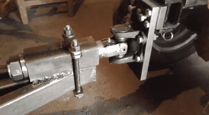 Изготовление прицепного механизма к прицепу