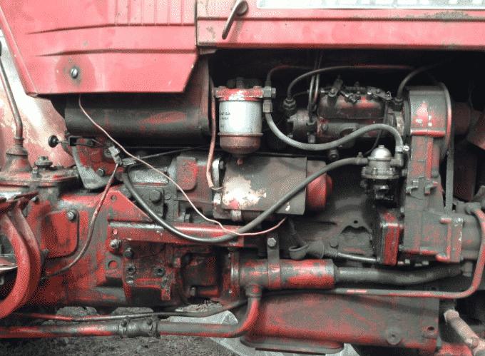Особенности трактора 445 Универсал