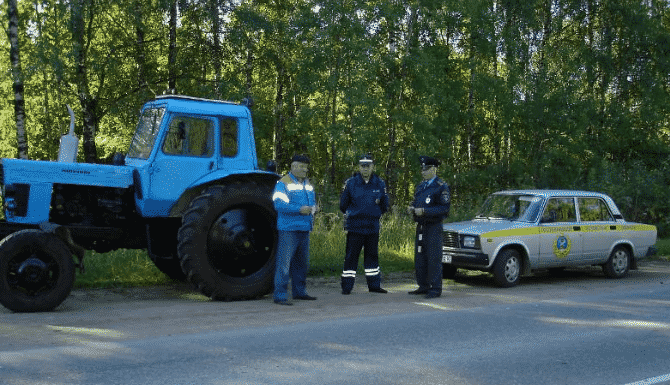 Чем грозит отсутствие документов на трактор