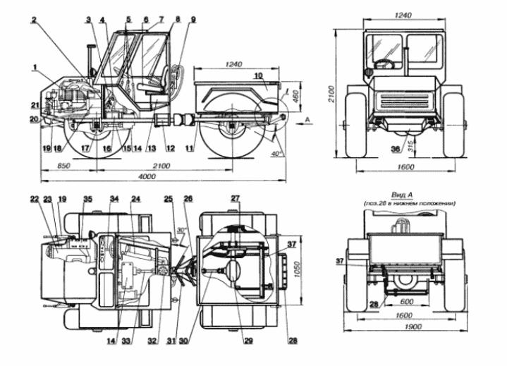 Как сделать трактор из Нивы своими руками, чертеж