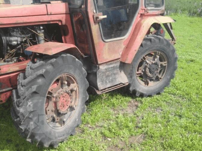 Колесный трактор К-20