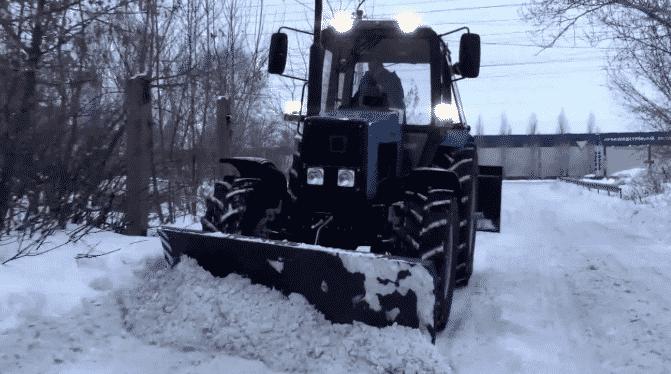 Навесное оборудование трактора МТЗ-1221