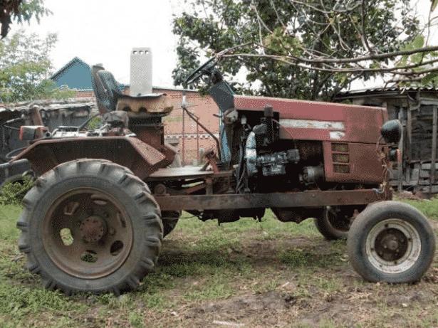 Самодельный трактор из ГАЗ 66