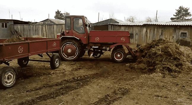 Технические характеристики трактора Т-16