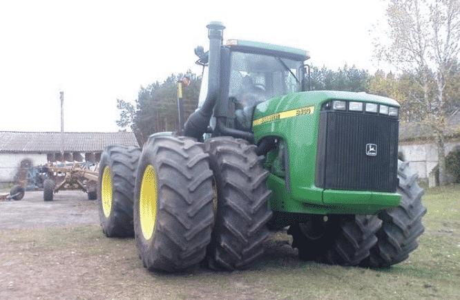 Трактор Джон Дир 9400