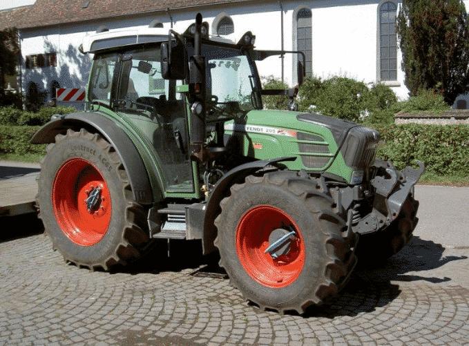Трактор Fendt 209