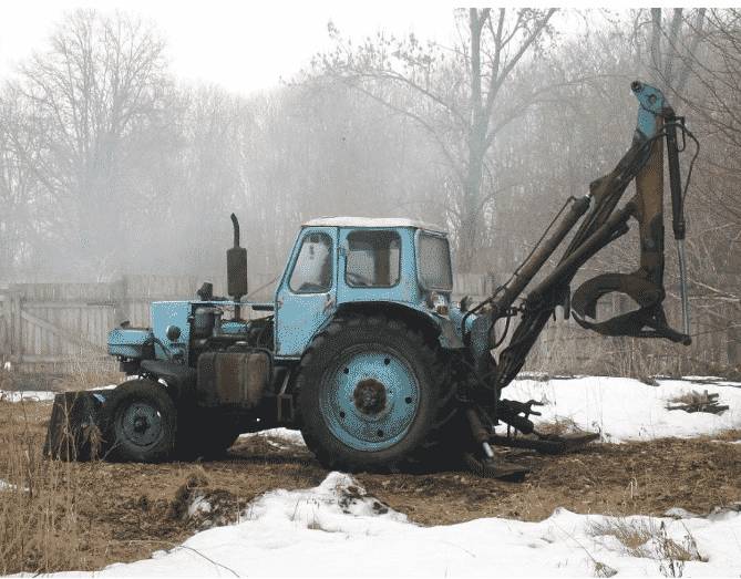Трактор ЮМЗ ЭО-2621
