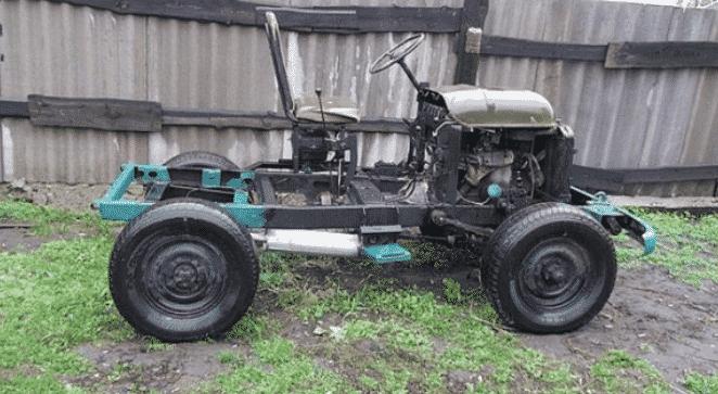 Трактор из УАЗ