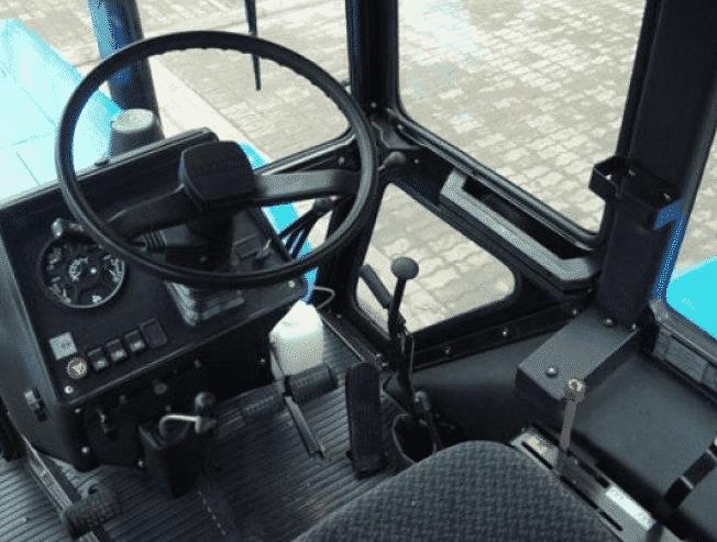 Устройство кабины трактора МТЗ-82