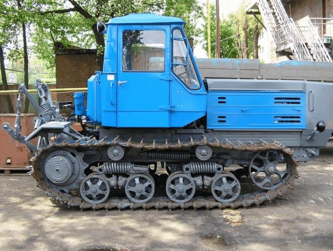 Устройство трактора Т-150К