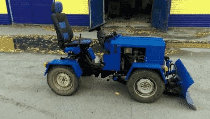 Возможности трактора из Жигулей